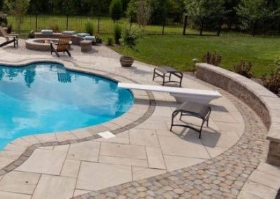Gilroy-Techo Bloc mixed with Antika small pavers-custom design